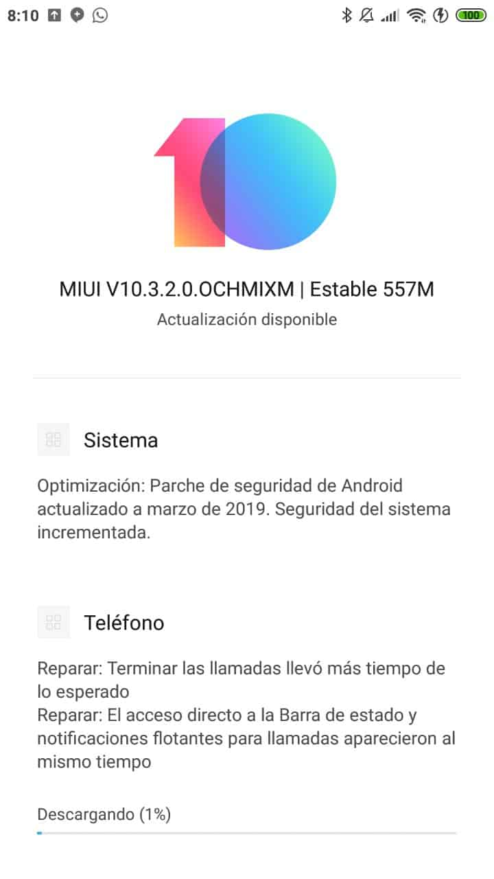 update note 3 abril