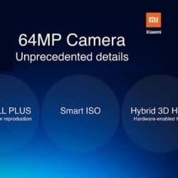 cámara xiaomi 64 mpx