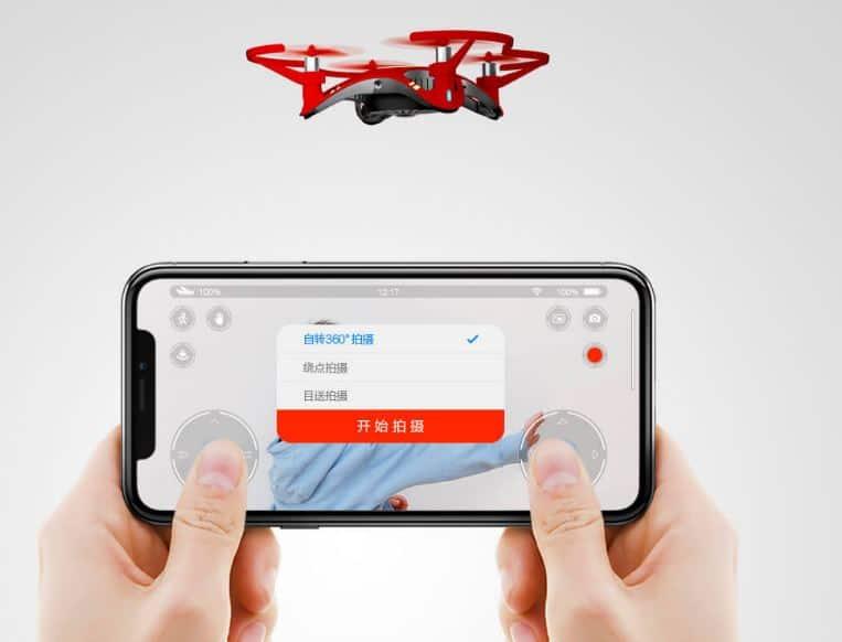 grabación dron de xiaomi