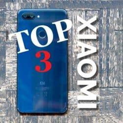 top 3 móviles xiaomi 2019