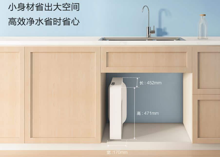 purificador de agua xiaomi
