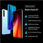 Xiaomi Redmi Note 8T con NFC y versión Global