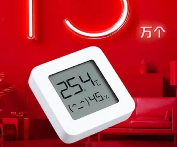 nuevo termometro de xiaomi