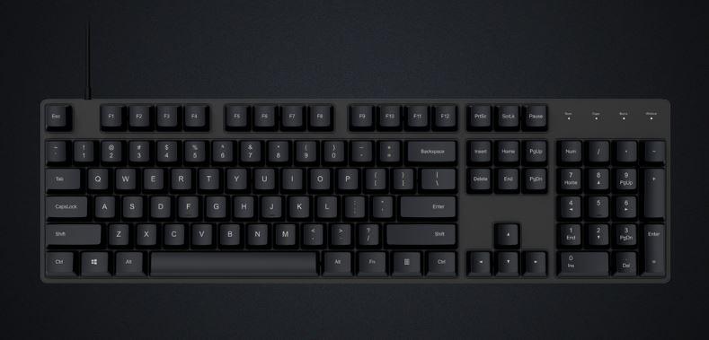 teclado xiaomi mecanico