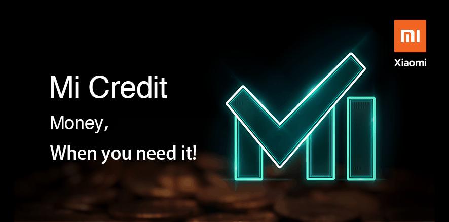 Xiaomi Mi-Credit