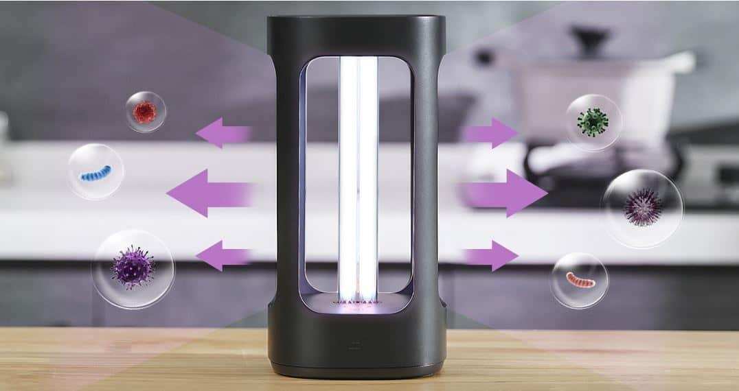 lampara esterilización inteligente Xiaomi