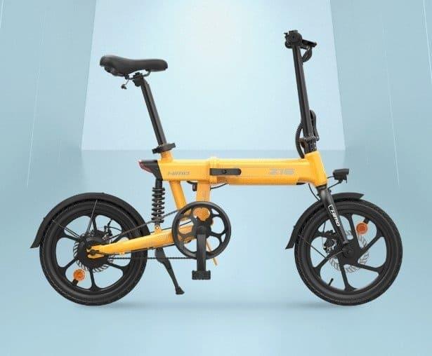 bicicleta eléctrica plegable Himo Z16