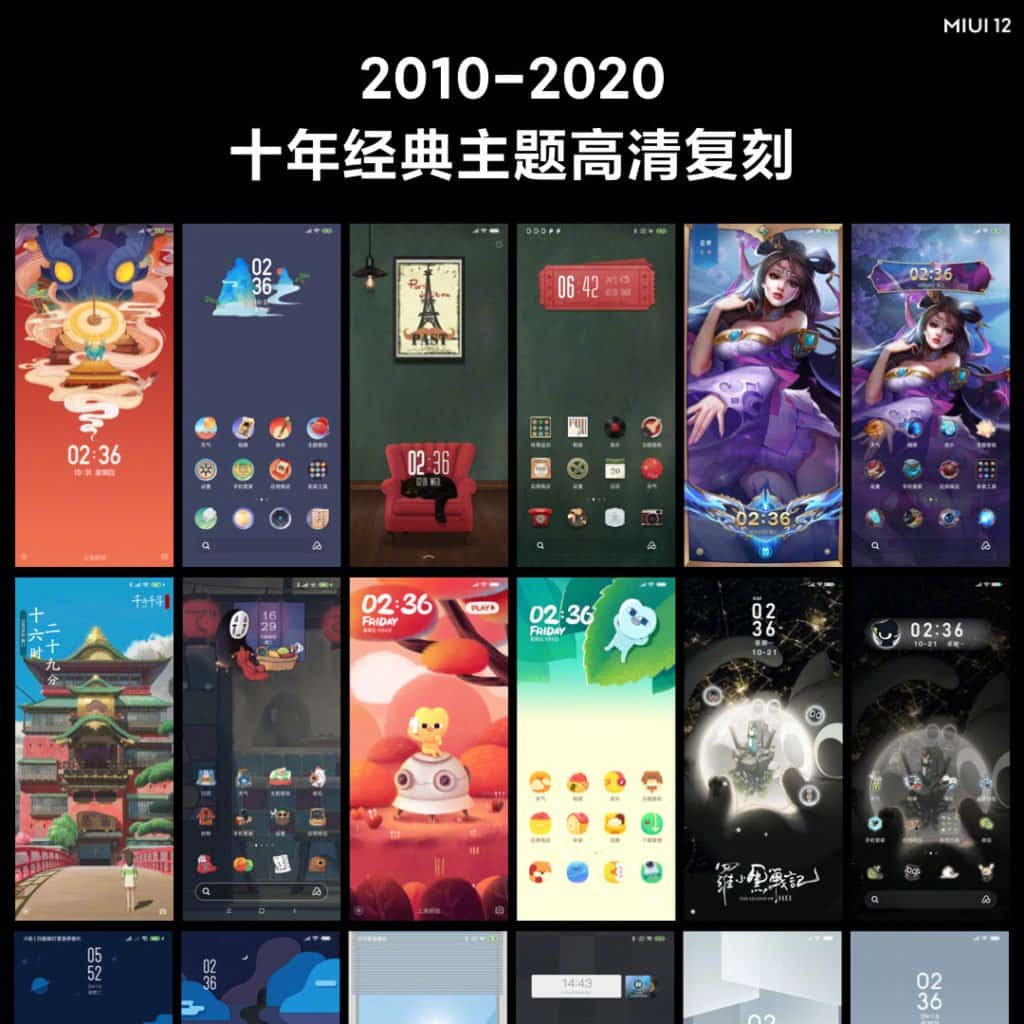 "Temas clásicos del 10 ° aniversario de MIUI 12 ""width ="" 696 ""height ="" 696 ""srcset ="" https://www.gizmochina.com/wp-content/uploads/2020/04/MIUI-12-10th-Anniversary-Classic- Temas-1024x1024.jpg 1024w, https://www.gizmochina.com/wp-content/uploads/2020/04/MIUI-12-10th-Anniversary-Classic-Themes-150x150.jpg 150w, https: // www. gizmochina.com/wp-content/uploads/2020/04/MIUI-12-10th-Anniversary-Classic-Themes-300x300.jpg 300w, https://www.gizmochina.com/wp-content/uploads/2020/04 /MIUI-12-10th-Anniversary-Classic-Themes-768x768.jpg 768w, https://www.gizmochina.com/wp-content/uploads/2020/04/MIUI-12-10th-Anniversary-Classic-Themes- 696x696.jpg 696w, https://www.gizmochina.com/wp-content/uploads/2020/04/MIUI-12-10th-Anniversary-Classic-Themes-1068x1068.jpg 1068w, https: //www.gizmochina. com / wp-content / uploads / 2020/04 / MIUI-12-10th-Anniversary-Classic-Themes-420x420.jpg 420w, https://www.gizmochina.com/wp-content/uploads/2020/04/MIUI -12-10th-Anniversary-Classic-Themes.jpg 1080w ""tamaños ="" (ancho máximo: 696px) 100vw 696px"