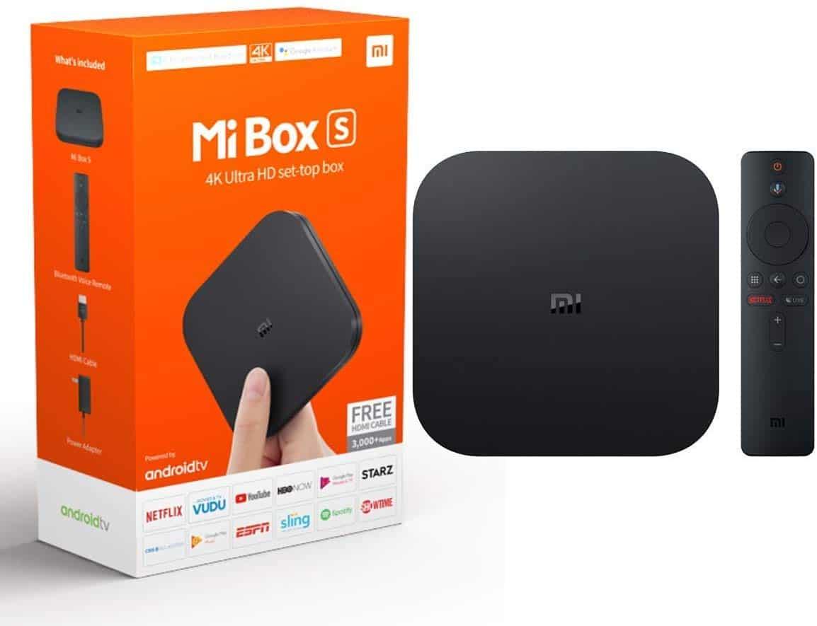 actualización Mi Box S