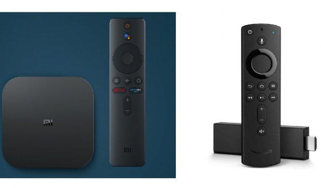Mi TV 4K vs Fire TV Stick 4K