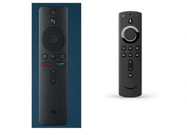 mando Xiaomi Mi Box 4K vs Amazon Fire TV Stick 4K