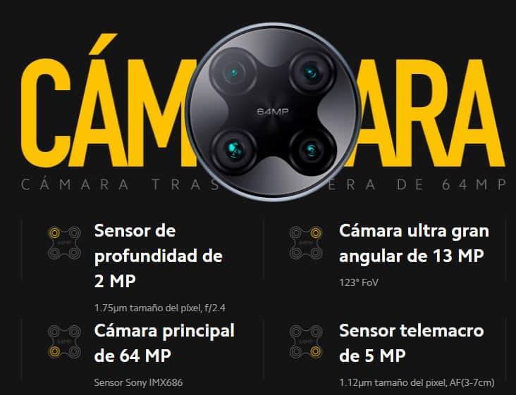 cámara poco f2 pro