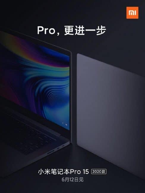 Póster Mi Notebook Pro 15 2020