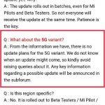 No hay planes de actualización para el Xiaomi Mi Mix 3 5G