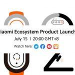 Evento para nuevos productos de Xiaomi el 15 de julio