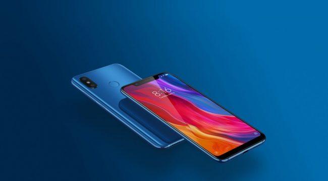 Xiaomi Mi 8 Blue Destacado