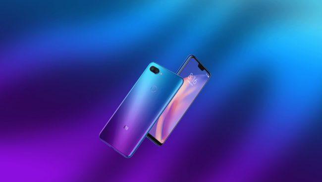 Xiaomi Mi 8 Lite Aurora Blue Destacado