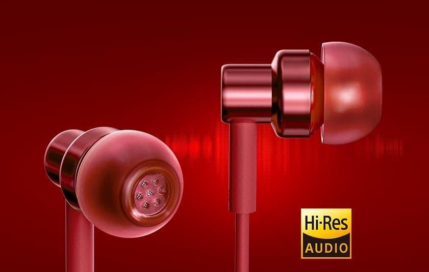 Auriculares Redmi Rojo Destacados