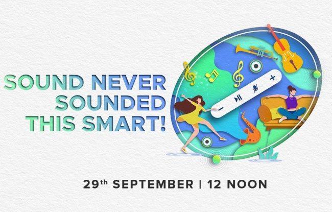 Teaser de lanzamiento de Xiaomi XiaoAI Speaker Art India