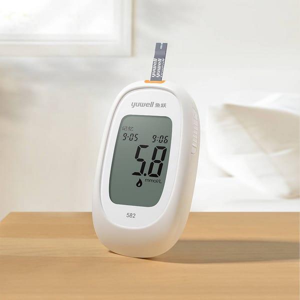xiaomi youpin medidor de glucosa en sangre yuwell 582 precio 2