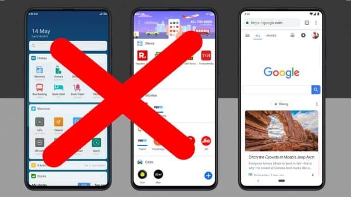 xiaomi miui 12 app vault google discover