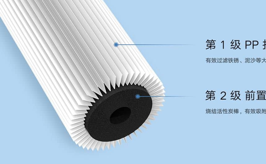 filtro de agua xiaomi