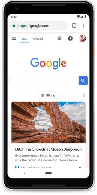 Vault y Xiaomi agrega Google Discover