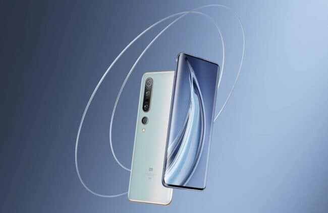 Colores Xiaomi Mi 10 Pro destacados