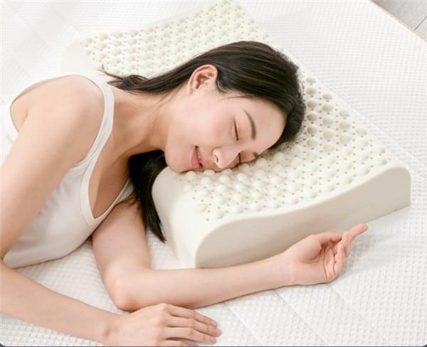 Almohada de masaje de látex natural 8H Air Pro