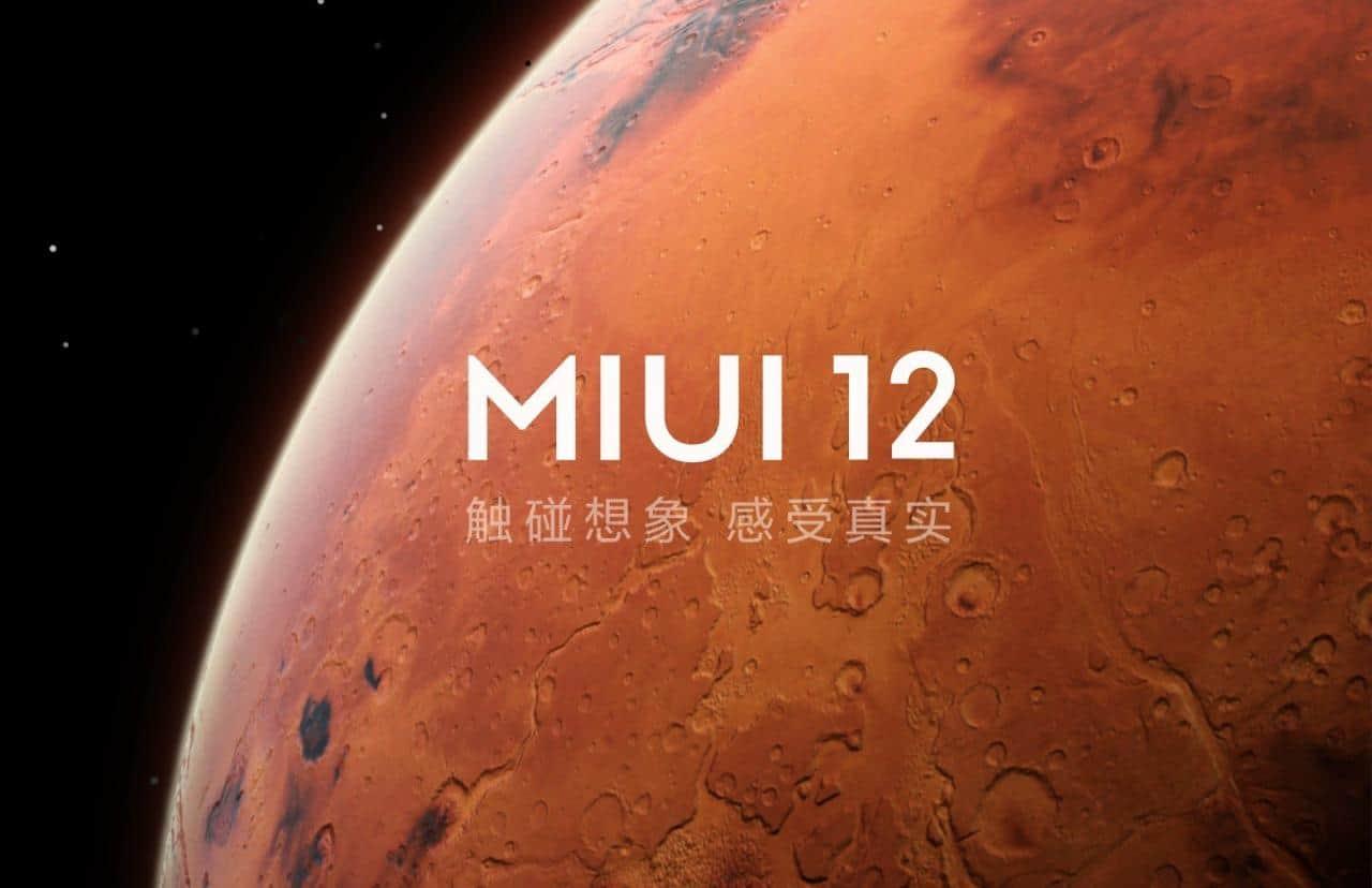 MIUI 12 Logotipo Marte
