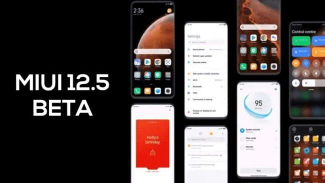 xiaomi miui 12.5 beta