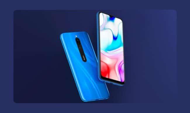 Redmi 8 Sapphire Blue destacado