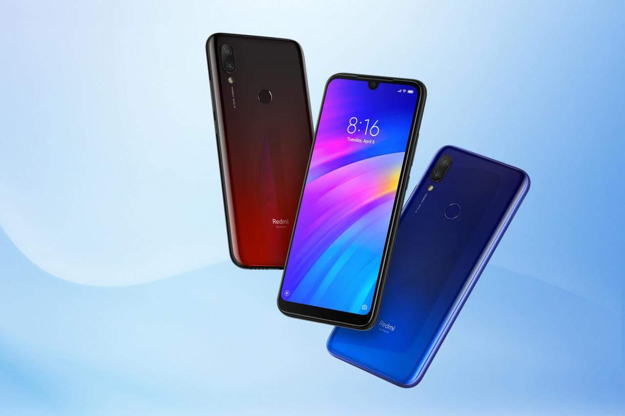 Xiaomi Redmi 7 Todos los colores destacados