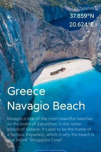 playa navagio grecia