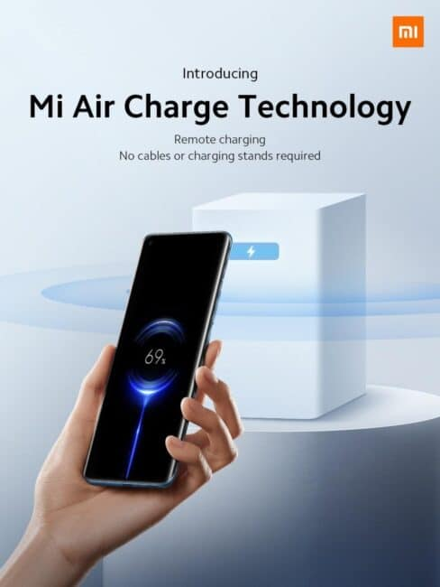 Tecnología Mi Air Charge