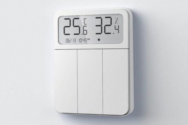 Pantalla de interruptor inteligente del termostato Xiaomi MIJIA