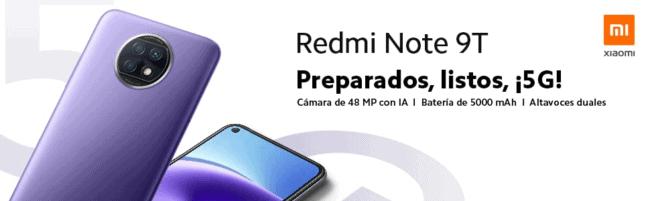 Lanzamiento Redmi Note 9T