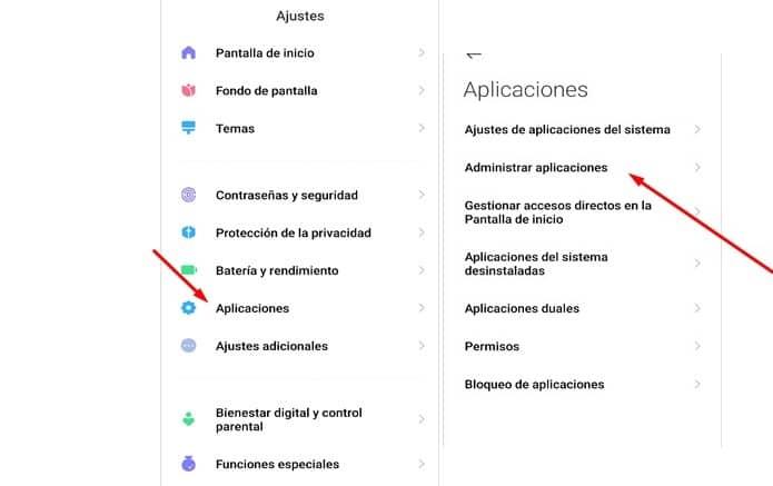 aplicaciones miui