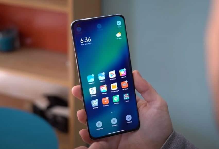 miui en el Xiaomi mi 11
