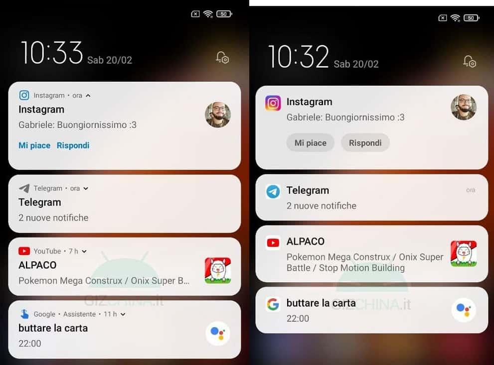 notificaciones tipo android
