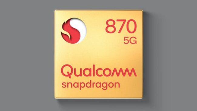 snapdragon 870 especificaciones