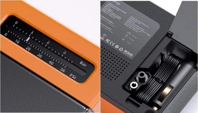 mini compresor eléctrico de Xiaomi 70 mai