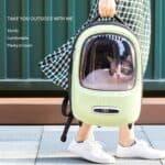 Mochila para gatos Xiaomi PETKIT con ventilación y luz