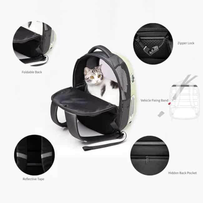 mochila porta gatos xiaomi