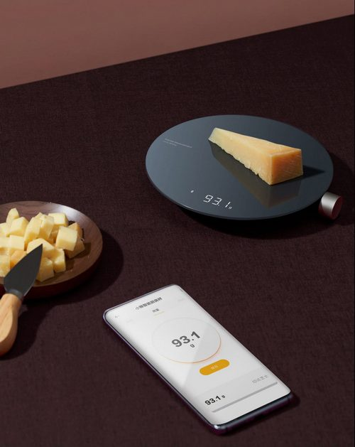 bascula de cocina inteligente hoto y xiaomi