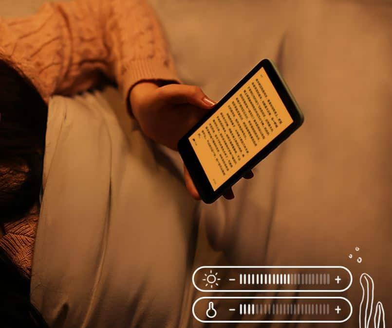 brillo lector de libros inkpalm