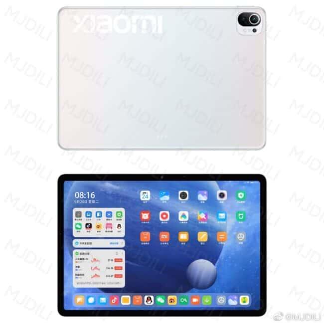 xiaomi mi pad 5 diseño 2