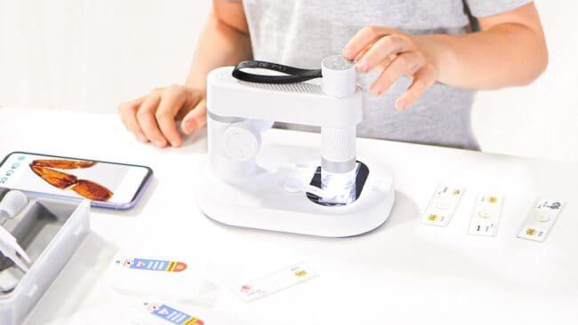 xiaomi youpin microscopio inteligente dangdang mapache prezzo 2