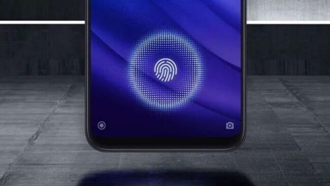 sensor de huellas dactilares en pantalla xiaomi