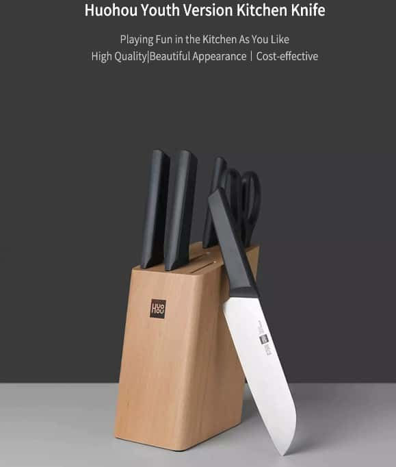 juego de cuchillos de xiaomi
